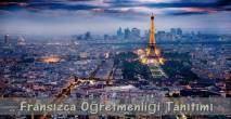 Fransızca Öğretmenliği Puanları İş imkânları Maaşları