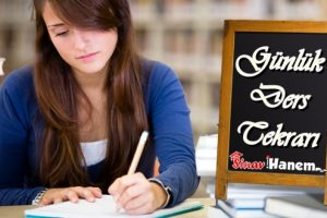 Günlük Ders Tekrarı Nasıl Yapılır?
