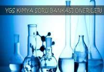 Ygs Kimya Soru Bankası Önerileri