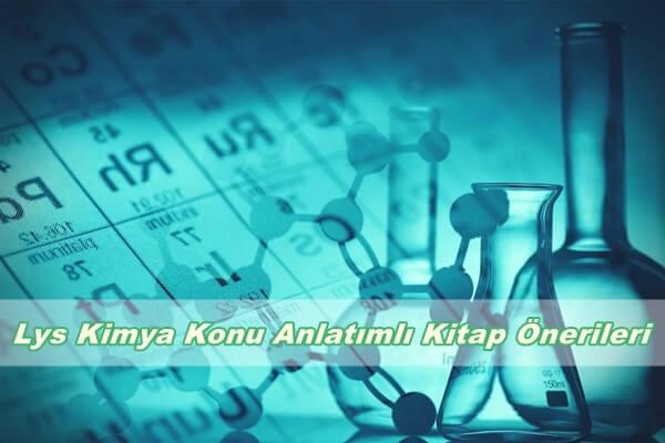 LYS Kimya Konu Anlatımlı Kitap Önerileri