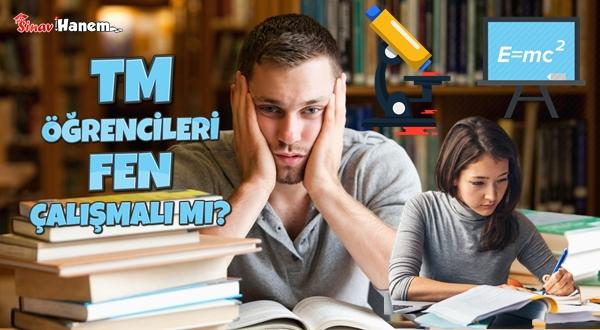 Eşit Ağırlık Öğrencileri TYT'de Fen Yapmalı Mı?