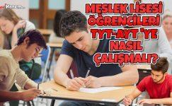 Meslek Lisesisi Öğrencileri YKS'ye (TYT-AYT) Nasıl Çalışmalı?