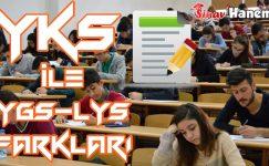 TYT-YKS ve YGS-LYS Arasındaki Farklar Neler? Hangisi Daha İyi?