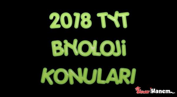 2019 TYT Biyoloji Konuları ve Soru Dağılımı