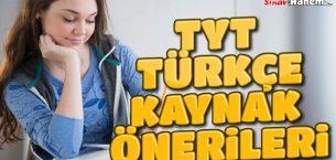 TYT Türkçe Kaynak Önerileri