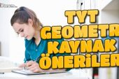 TYT Geometri Kaynak Önerileri 2021