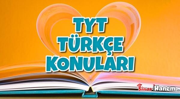 TYT Türkçe Konuları 2020 – Konu Dağılımı – Hangi Konudan Kaç Soru Çıkar?