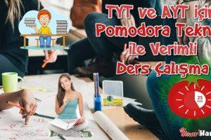 Pomodoro Tekniği ile TYT ve AYT İçin Verimli Çalışma