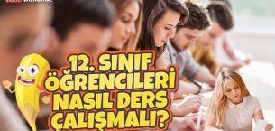 12. Sınıf Öğrencileri Nasıl Ders Çalışmalı?