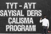 YKS (Tyt – Ayt) Sayısal (MF) Ders Çalışma Programı 2019-2020