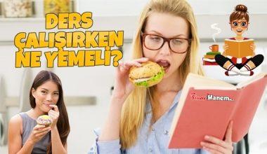 Ders Çalışırken Ne Yemeli?