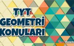 TYT Geometri Konuları 2021